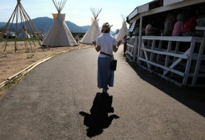 Dr Nelson Joins the Indigenous Grandmothers in Lame Deer Montana